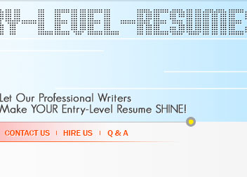 resume writing for entry level ...